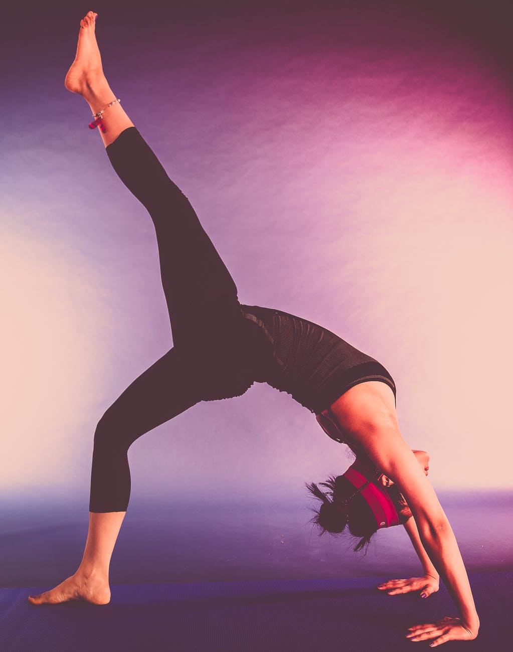 agility balance beautiful girl dancer